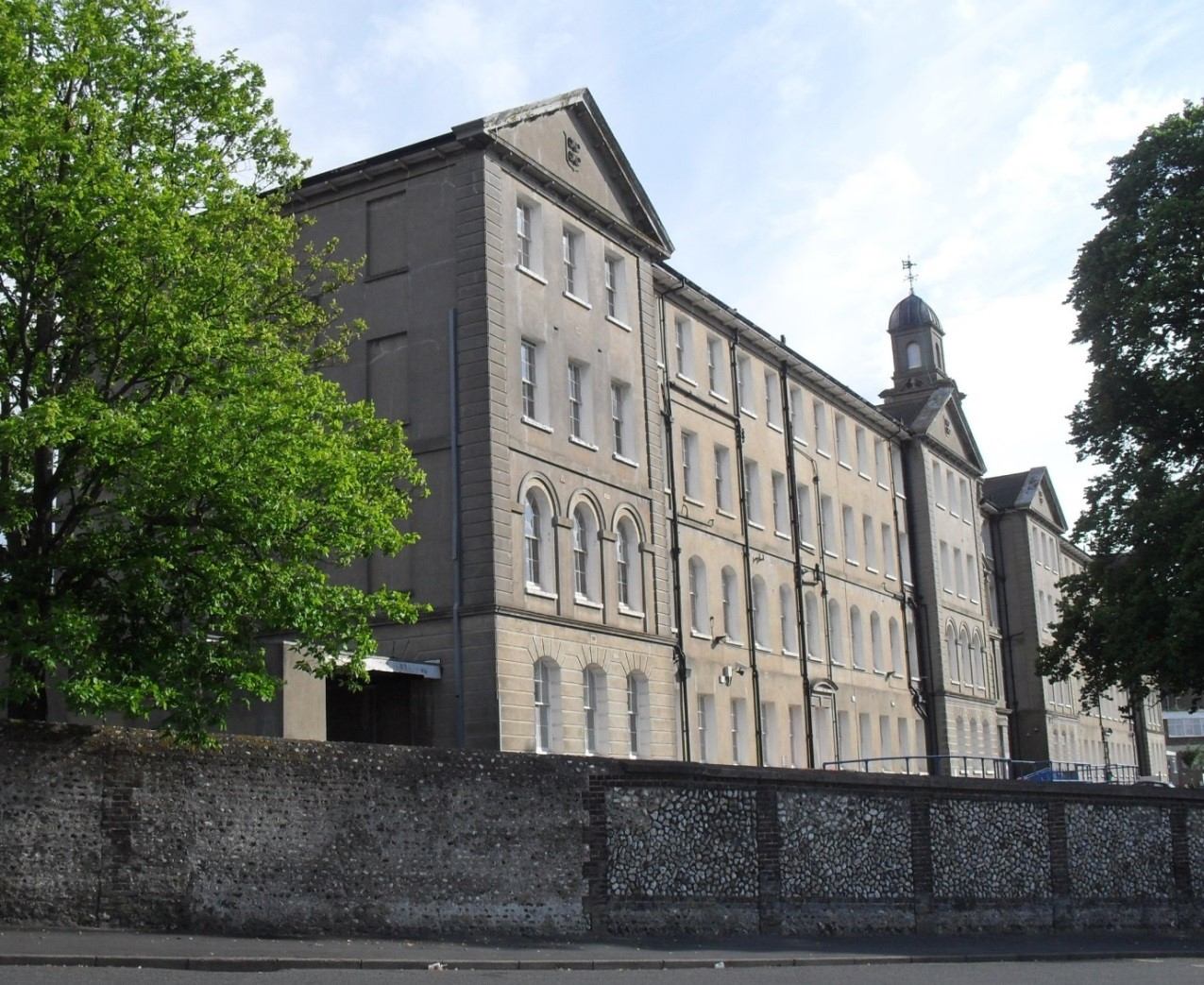 """Brighton General Hospital, Elm Grove was once Brighton Workhouse.  It was deliberately sited a long way out of town and a long way away from """"polite"""" society."""