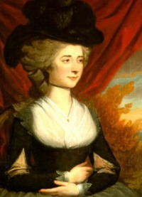 """Frances Burney (1782) by Edward Francisco Burney As Keeper of the Robes to Queen Charlotte, her diaries provide an insight into the royal family and court life, including George III's """"madness""""."""