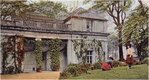 Postcard of St Anne's Well Pump Room 1917