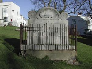 Amon Wilds tomb in St Nicholas church