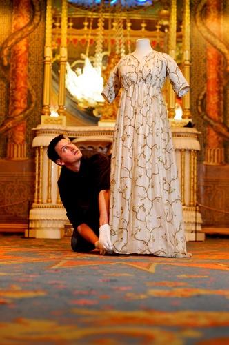 Martin Pel and Regency Dress Photograph by Jim Holden
