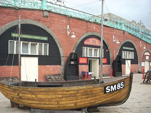 Brighton Fishing Museum works to collect, preserve and present the history of Brighton's fishing community. It is now expanding to include the history of Brighton's seafront and a school room upstairs.